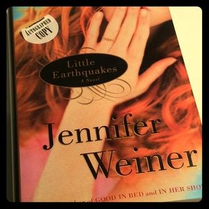Little Earthquakes Signed by Jennifer Weiner Book
